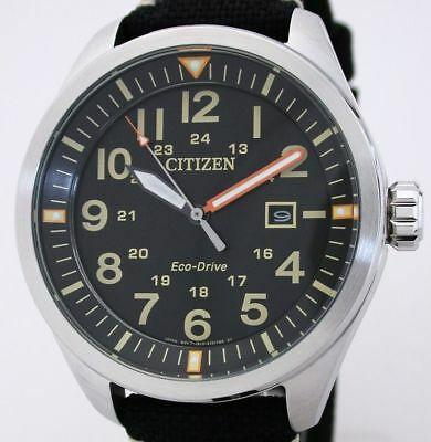 Citizen Sports ECO-DRIVE Solaruhr Herrenuhr 10 BAR WR Ref. AW5000-24E