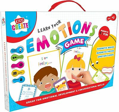 Learn Emotions Game Toy Educational Childrens Kids Memory Learning Gift Activity