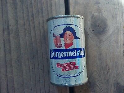 Burgermeister Beer Bank Top Beer Can 9 99 Picclick