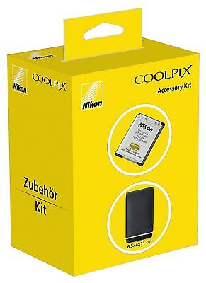 Nikon EL19 Battery and Case COOLKIT COOLPIX S2/3/4 Series - S7000 Accessory Kit
