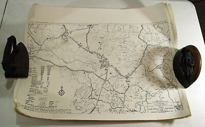 "Civil War Spotsylvania Map Bundle 12 maps 25"" X 19"" Battle in Virginia"