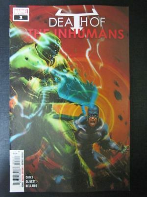 Inhumans: Death Of #3 - October 2018 - Marvel Comic # 2D73