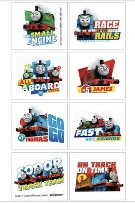 8 Jumbo Thomas Train Stickers Party Favors 4.75 x 2.75