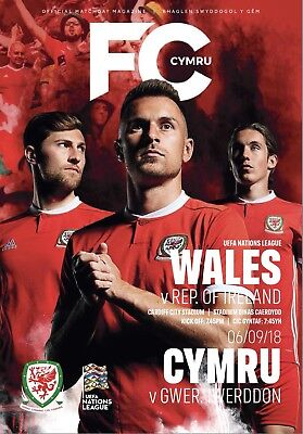 Wales V Ireland Programme 2018 Nations League