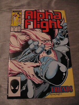 Alpha Flight #46  Marvel 1987 FN P&P Discounts