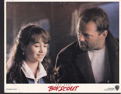Bruce Willis Danielle Harris The Last Boy Scout  1991 vintage movie photo 23005