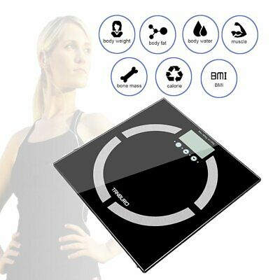 180Kg Digital Electronic Glass Lcd Weighing Body Scales Bathroom Weight Machine