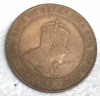 # 6870C    Canada   Coin,   Large  Cent     1910