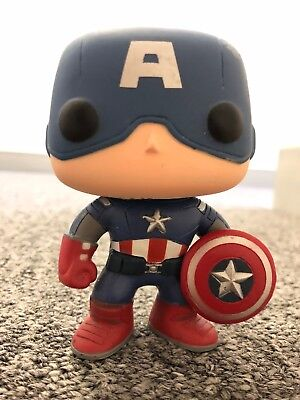 Captain America Funko Pop 10 (2011) NO BOX