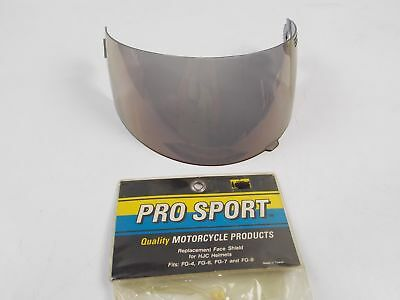 Pro Sport Motorcycle Atv Smoke Face Shield Mask Visor For Hjc Helmets Fg-4/6/7/9