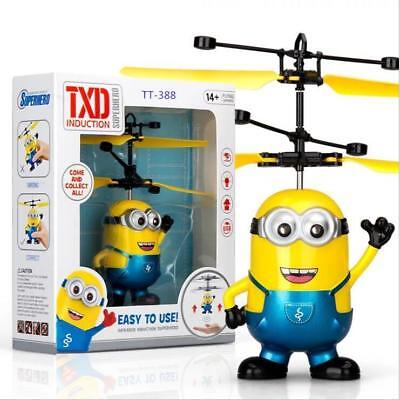 RC helicopter Drone kids toys Flying Ball Aircraft Led Flashing Light Up Toy