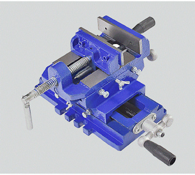 Mechanic's Vice CROSS DRILL PRESS VISE SLIDE MILLING 2 WAY X-Y CLAMP MACHINE
