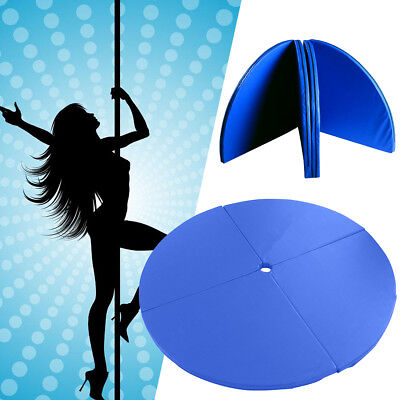 Foldable Dance Pole Dancing Fitness Mat Spinning Exercise Gym Crash Safety Pad