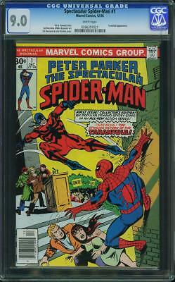 Peter Parker The Spectacular Spider Man  #  1  Marvel 1976  Cgc 9.0 Vfn-Nm