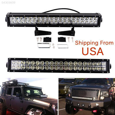 6812 22inch 120W 40-LED CREE Work Light Bar Spot Flood Offroad JEEP ATV 12V