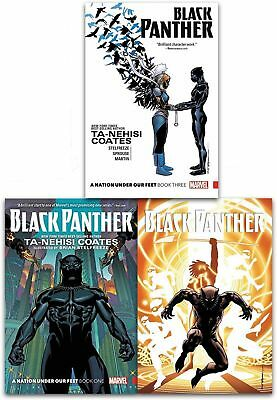 Ta-Nehisi Coates Collection 3 Books Set Black Panther Nation Under Our Feet Book