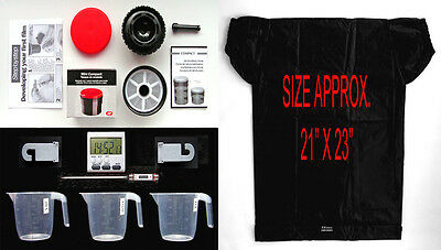 "35Mm   Black & White  Film  Developing Kit  Plus C.bag   ""great Value"""