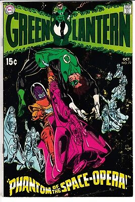 GREEN LANTERN #72, DC Comics (1969)