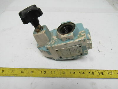Vickers CS06C50 300-2000 PSI Range Pressure Piston Relief Hydraulic Valve