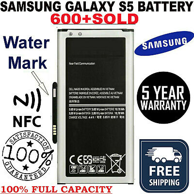 2800mAh 100% original battery replacement for Samsung Galaxy S5 Genuine BG900BBE