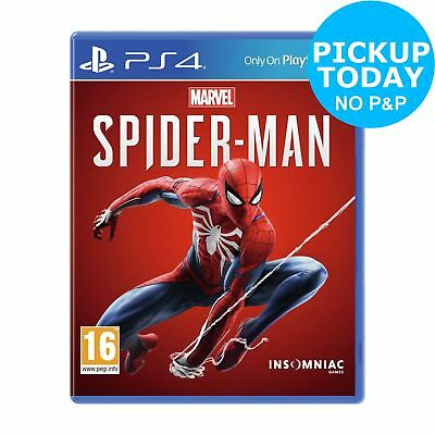 Marvel's Spider-Man Sony Playstation PS4 Game 16+ Years