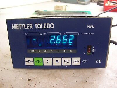 Mettler Toledo Panther Ptpn 1800 000 Digital Scale Display Terminal 120/240 Vac