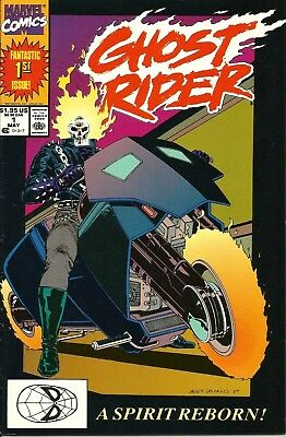 Ghost Rider # 1 (Vol 2) / 1St Appearance Danny Ketch / Marvel / May 1990 / N/m