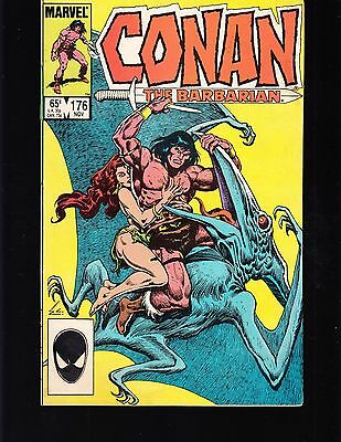 Conan -The Barbarian #176 1985 Fn- Marvel -Argos Rain-  Owsley/ Jim Shooter