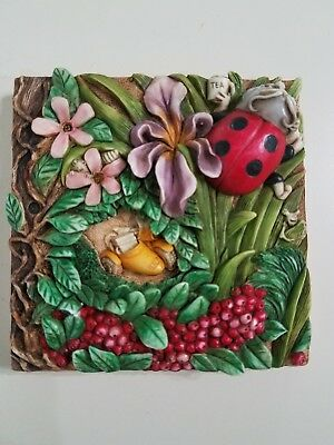 Harmony Kingdom Picturesque Byron's Secret Garden Byron's Bower Magnetic Tile
