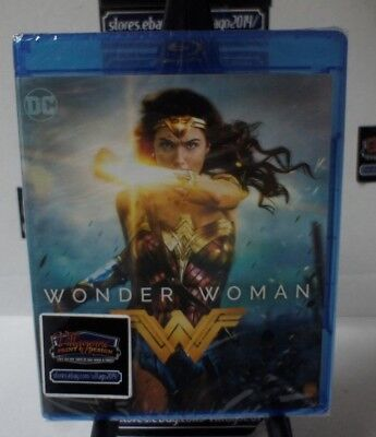 WONDER WOMAN   NEW Blu-Ray FREE SHIPPING!!