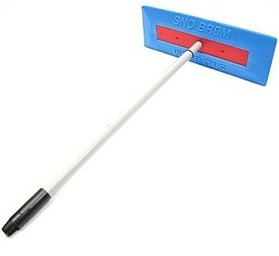 "SnoBrum Original Snow Removal Tool w/ 19"" to 30"" Compact Telescoping Handle 2pk"