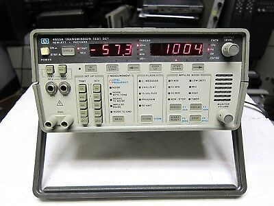 Hewlett Packard 4935 A Transmission Test Set Works Goverment Surplus Vintage