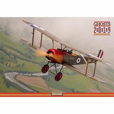 2019 Ghosts Great War 2019 Wall Calendar, Airplanes by Ghosts
