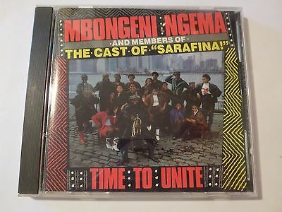 CD: MBONGENI NGEMA and Members of the Cast of Sarafina ~ African World Music
