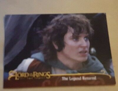 Lord Of The Rings - The Two Towers -Promo Card L1  Frodo (Uk)