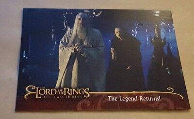 Lord Of The Rings - The Two Towers -Promo Card L2 Saruman (Uk)