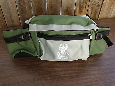 Fanny Pack ~ Sierra Club ~ Multi-Fach Tag Taille Gepolstert Hike Packung