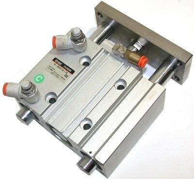 """Up To 7 Smc 2"""" Compacted Dual Pin Guided Air Slide Cylinders 12-Mgpl32-50"""
