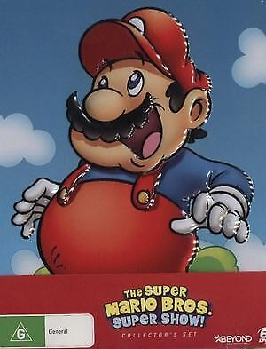 Super Mario Bros Super Show - Complete Series Collector's Set DVD NEW SEALED