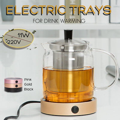 Electric Tray Coffee Tea USB Drink Warmer Cup Heater Beverage Mug Pad Office
