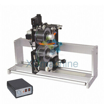 Pneumatic Ribbon Coding Machine Date Batch Code Printer Thermal Tracking Coder