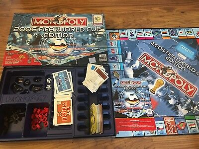 Monopoly 2006 FIFA WORLD CUP Edition Board Game Football Classic Family Germany
