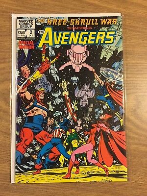 Kree-Skrull War Starring the Avengers #2 1983 VF to M  Marvel