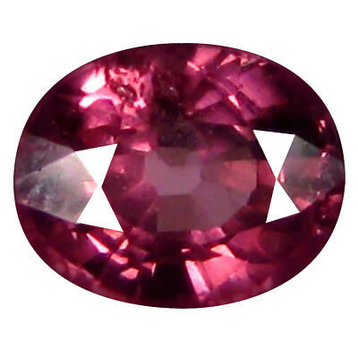 1.05 Kt AAA+ Good-Looking di Forma Ovale (6 x 5 mm) Rosato Rosso Rhodolite