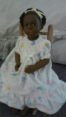 All God's Children  ANIKA  RARE Miss Martha Holcombe Jointed Doll with Chair