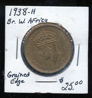 1938 H British West Africa Two Shillings HDC75