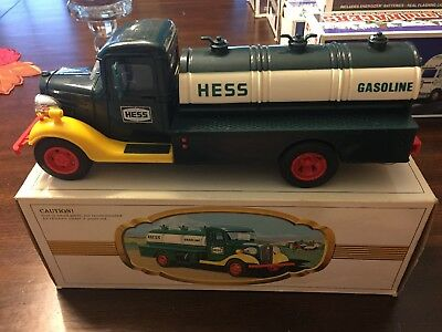 "Vintage 1980 Hess Toy Truck With Original Box "" THE FIRST HESS TRUCK """