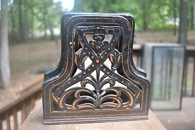 Rare Old Victorian Cast Iron Office What's It? Please Help Me Identify This Wow