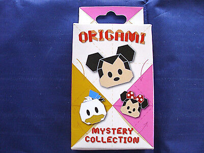 Disney * ORIGAMI - MICKEY & FRIENDS * New & Sealed 2-Pin Mystery Box
