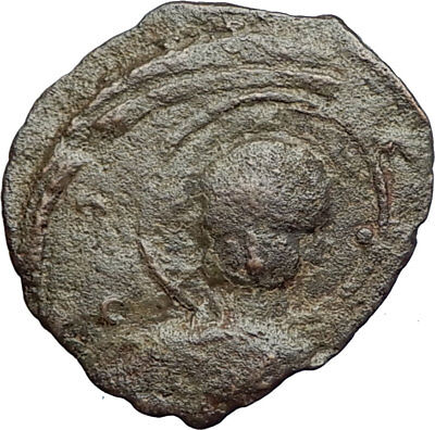 CRUSADERS of Antioch Tancred Ancient 1101AD Byzantine Time Coin St Peter i71239